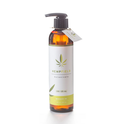 Hempfield Botanicals CBD Massage Oil