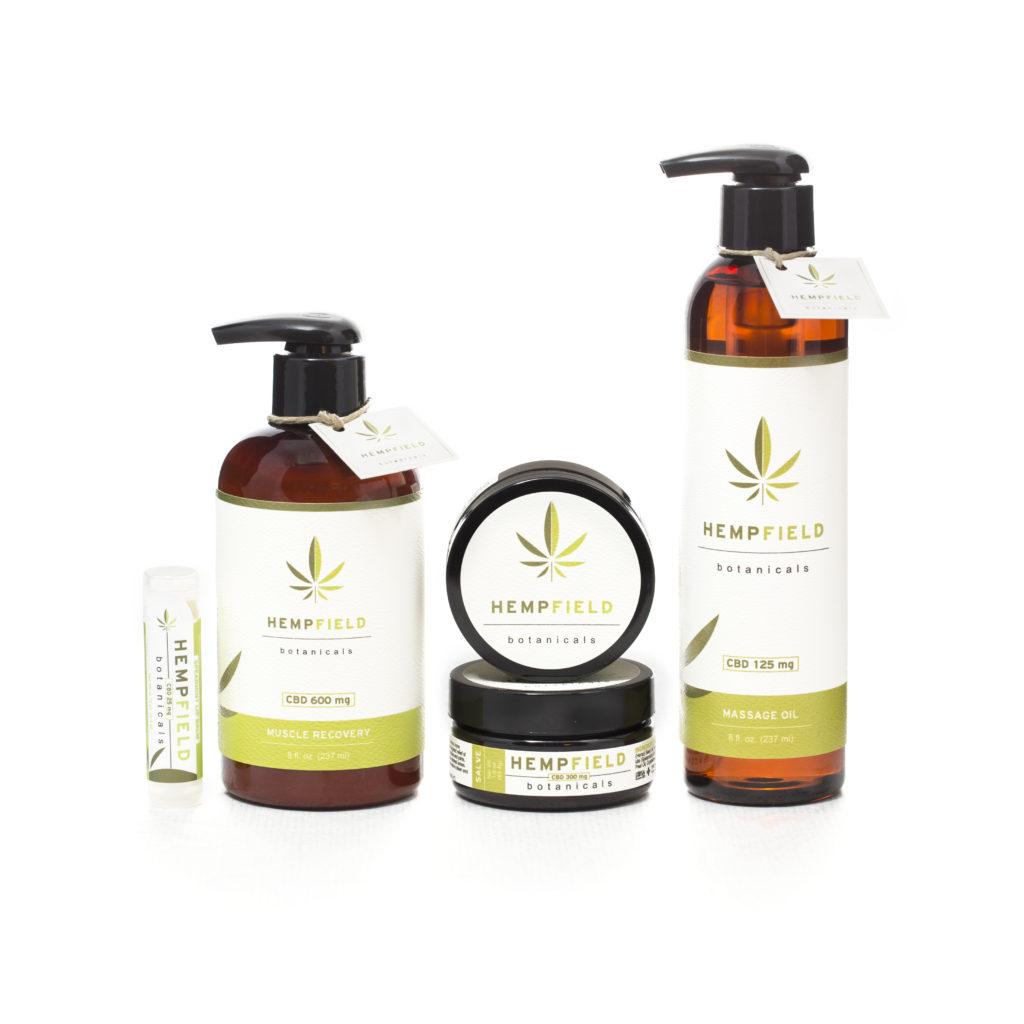 Hempfield Botanicals Topical CBD Products