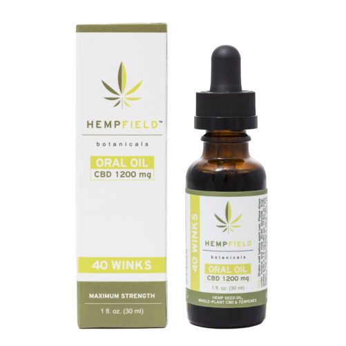 40 Winks | 1200 MG CBD | Hempfield Botanicals