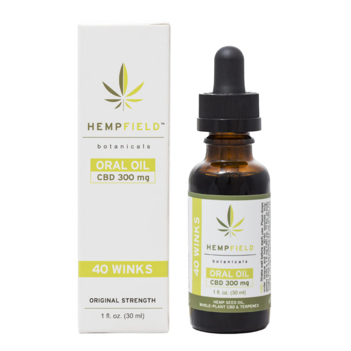 40 Winks | 300 MG CBD | Hempfield Botanicals