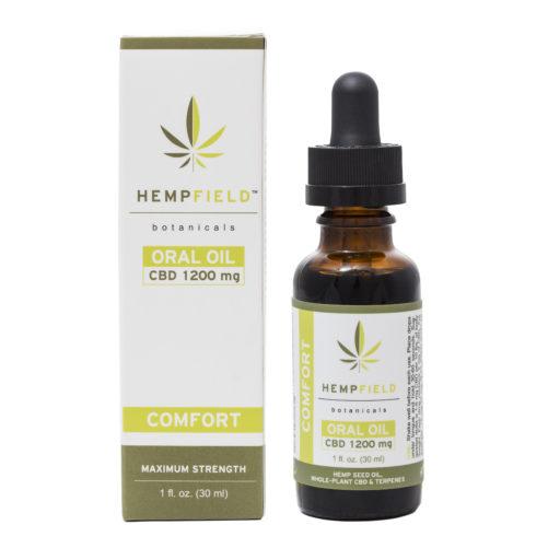 Comfort 1200 mg CBD Oil | Hempfield Botanicals