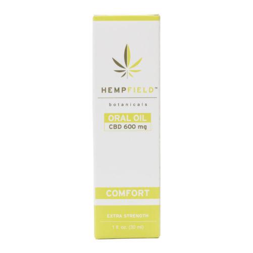 Comfort 600 mg CBD Oil | Hempfield Botanicals