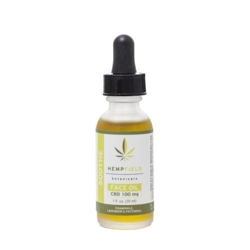 Soothe CBD Face Oil | Hempfield Botanicals