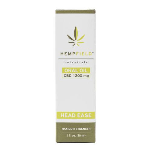 Head Ease | 1200 MG CBD | CBD Migraine Relief | Hempfield Botanicals