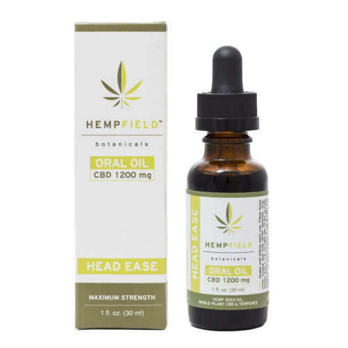 Head Ease | 1200 MG CBD | CBD Migrain Relief| Hempfield Botanicals