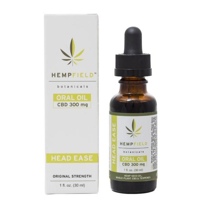 Head Ease | 300 MG CBD | CBD Migraine Relief | Hempfield Botanicals