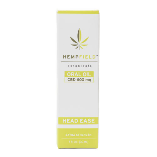 Head Ease | 600 MG CBD | CBD Migraine Relief | Hempfield Botanicals