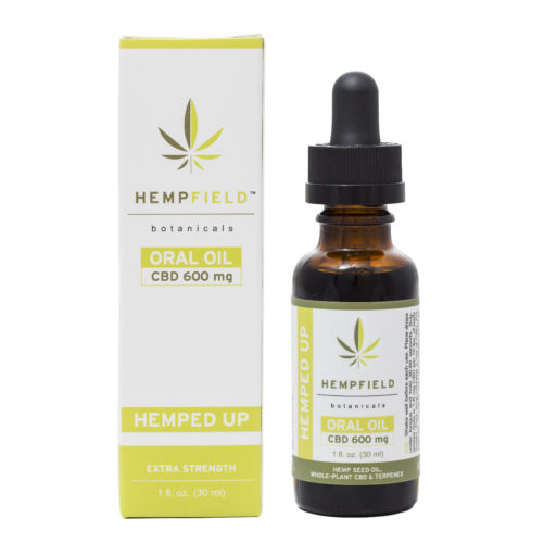 Hemped Up | 600 MG CBD | Hempfield Botanicals