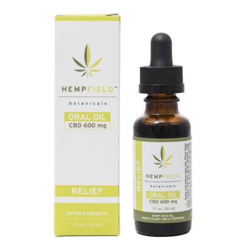 Relief | 600 MG CBD | Hempfield Botanicals
