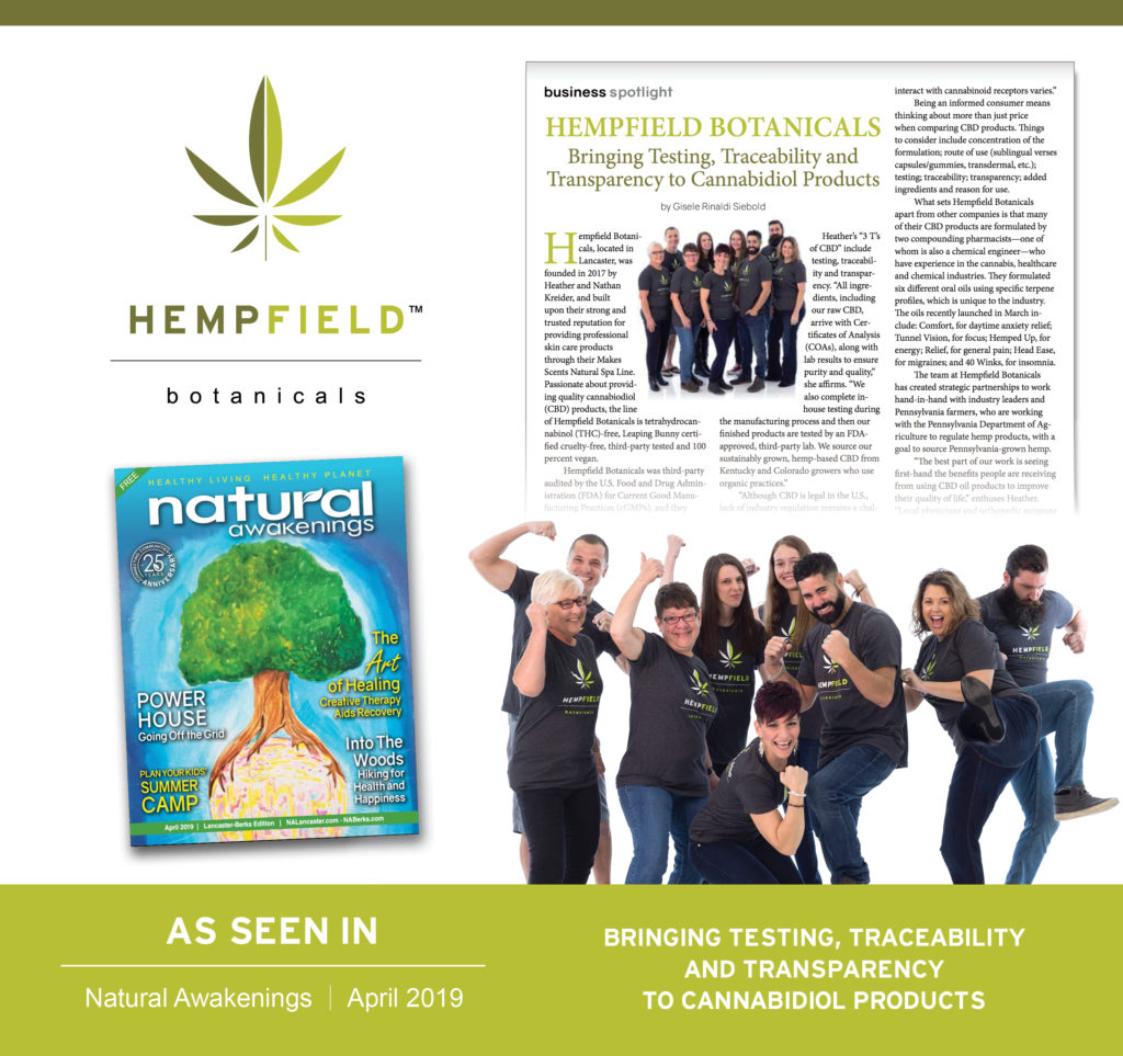 Hempfield Botanicals | Natural Awakenings Magazine Lancaster
