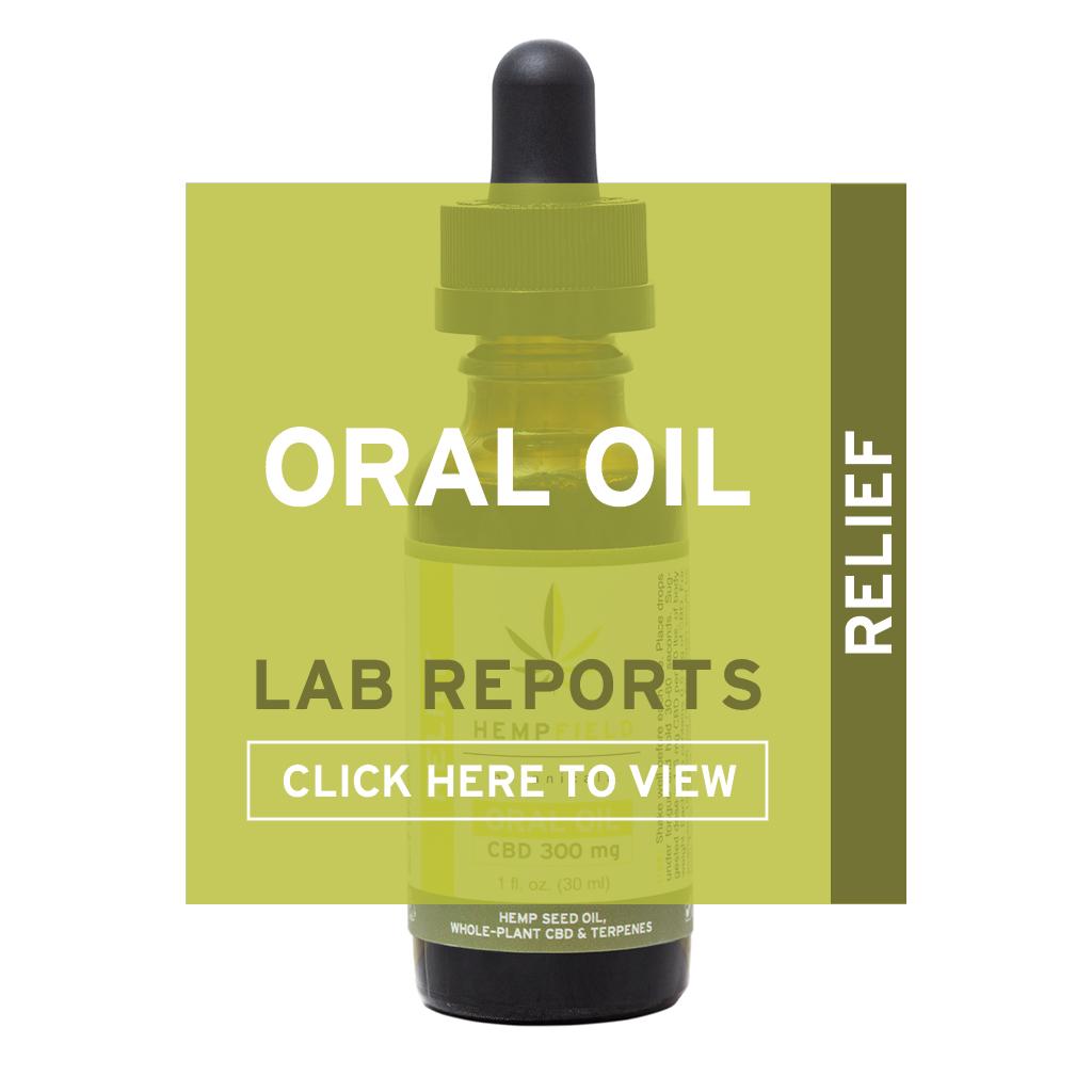 Oral CBD Oil | Lab Reports | Hempfield Botanicals