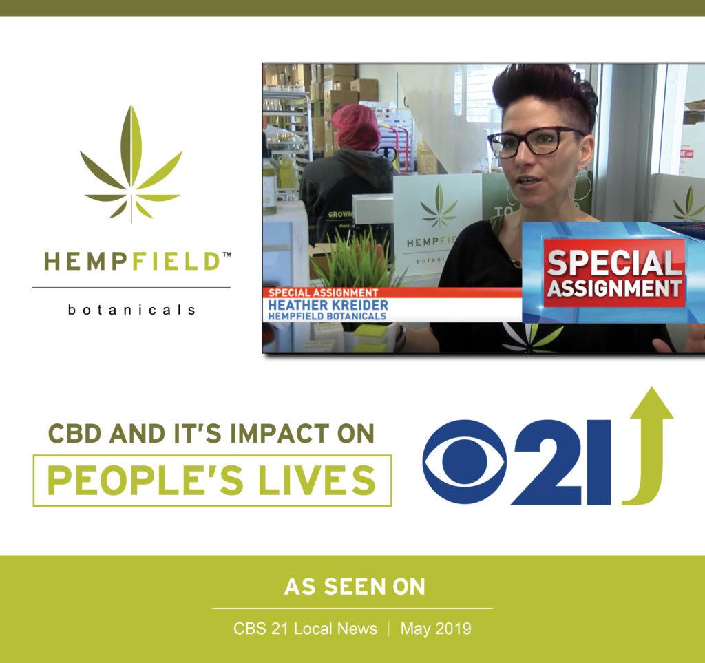 CBS 21 News Special Report | Hempfield Botanicals