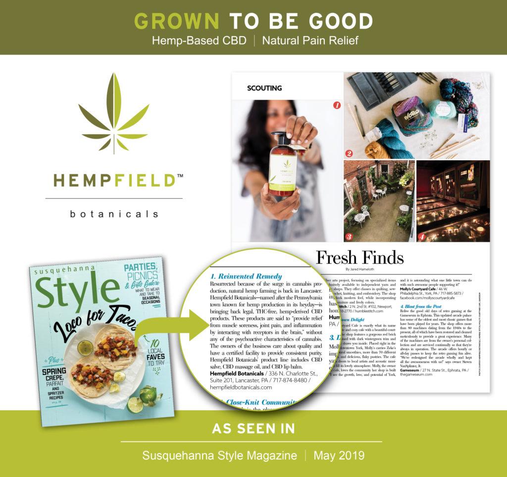 Susquehanna Style Magazine | Hempfield Botanicals