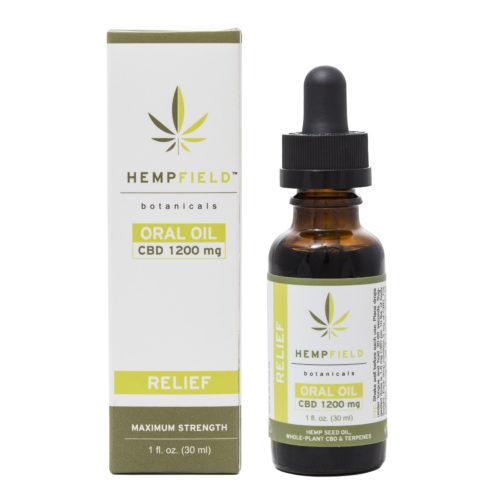 Relief | 1200 MG CBD | Hempfield Botanicals