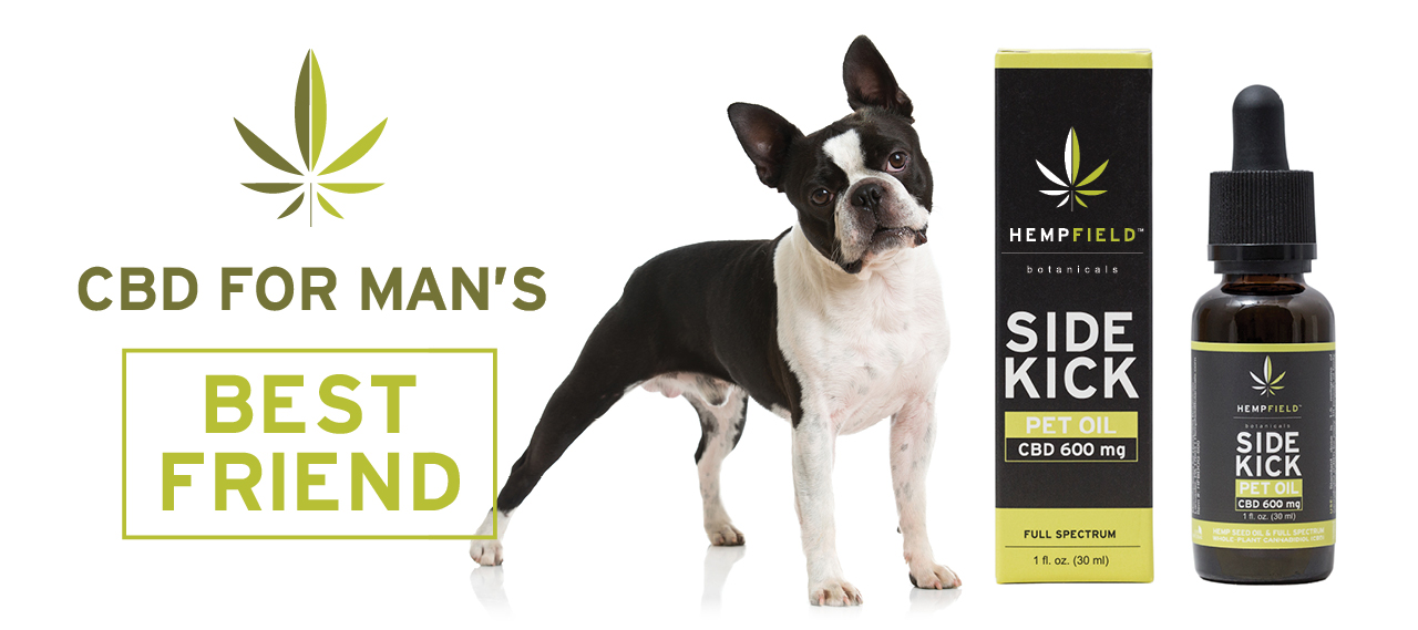 Side Kick CBD Pet Oil | Hempfield Botanicals
