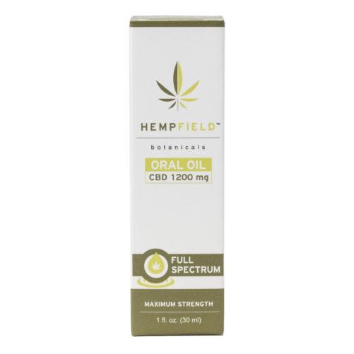 Hempfield Botanicals | Full Spectrum CBD Oral Oil - 1200 mg