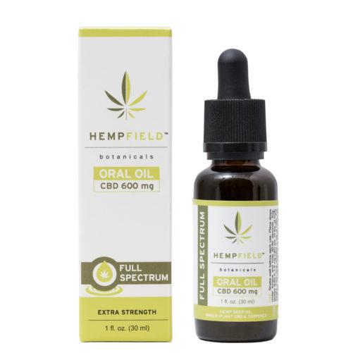 Hempfield Botanicals | Full Spectrum CBD Oral Oil - 600 mg