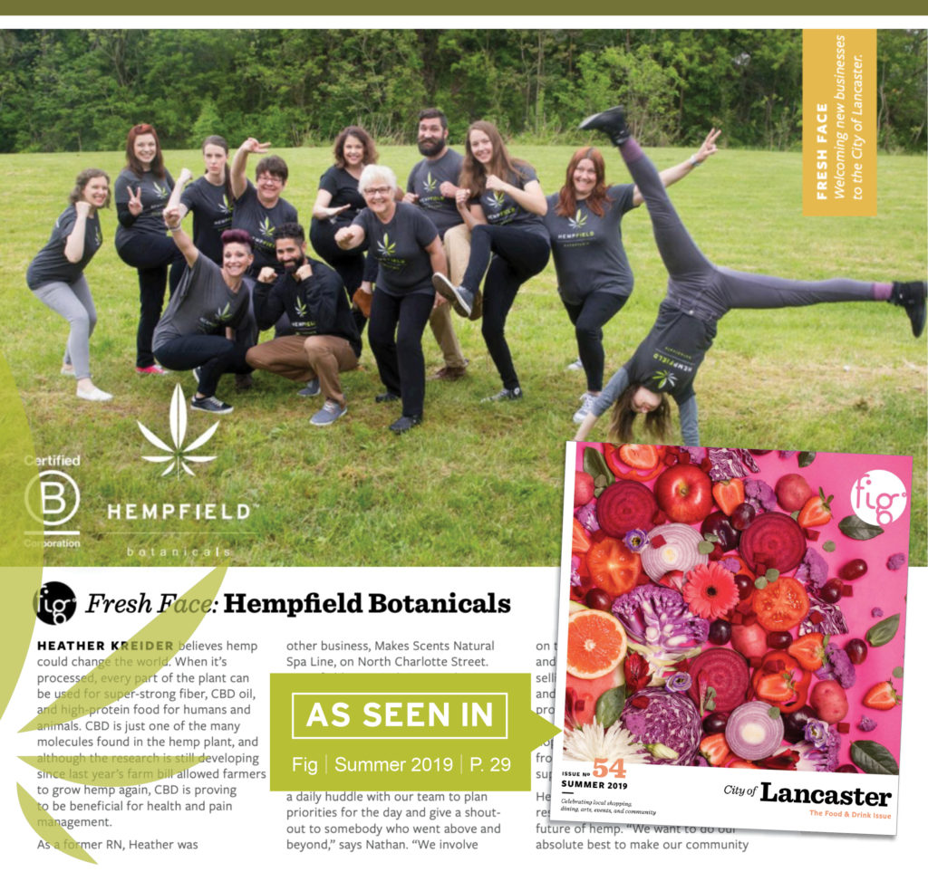 Fig Lancaster Summer 2019 | Hempfield Botanicals
