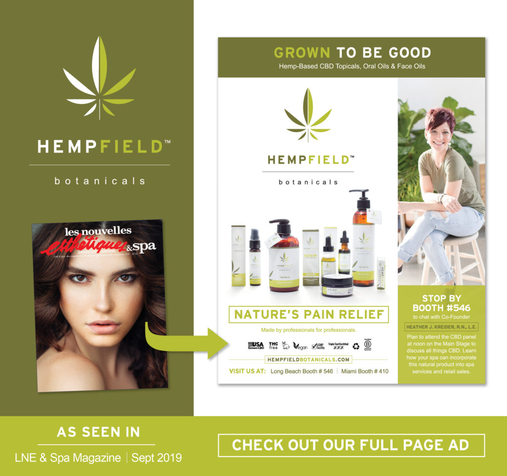 Les Nouvelles Esthétiques & Spa Magazine | Hempfield Botanicals