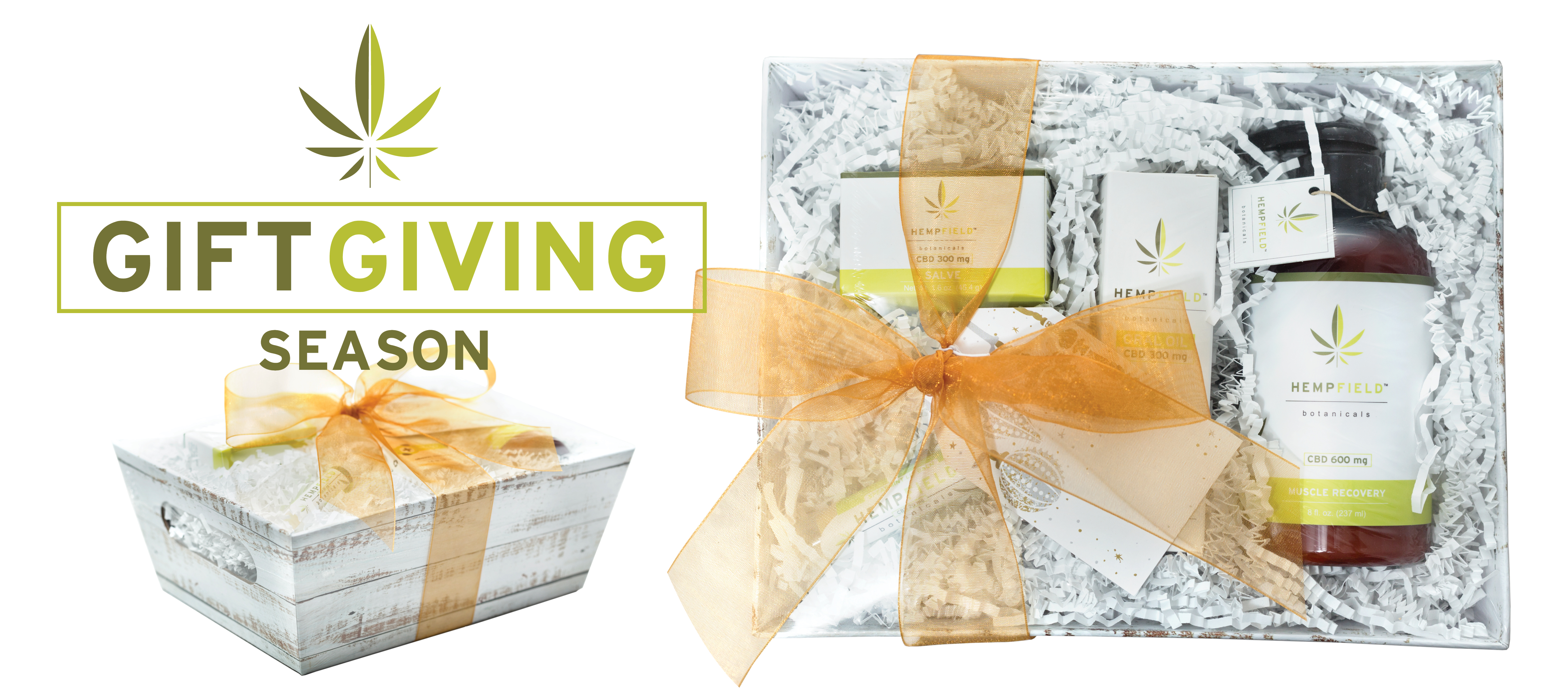 Hemp for the Holidays Gift Basket 15% OFF | Hempfield Botanicals
