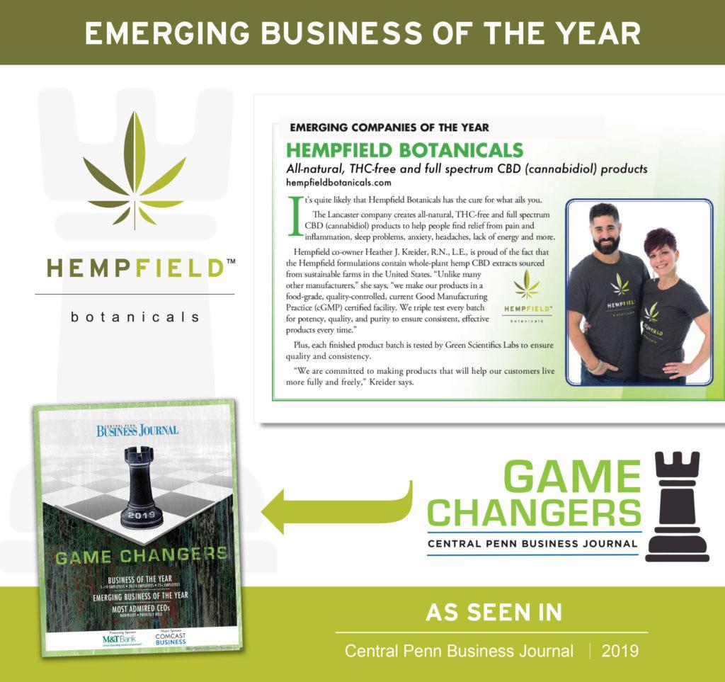 CPBJ Emerging Business of the Year | Hempfield Botanicals