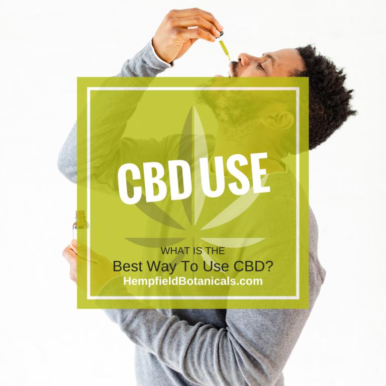 CBD Use | Bioavailability | Hempfield Botanicals