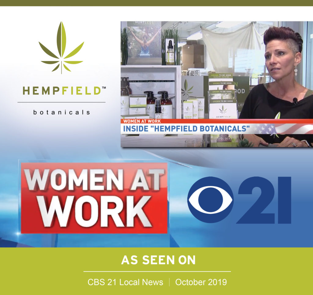 Women at Work | CBS 21 | Heather J. Kreider | Hempfield Botanicals
