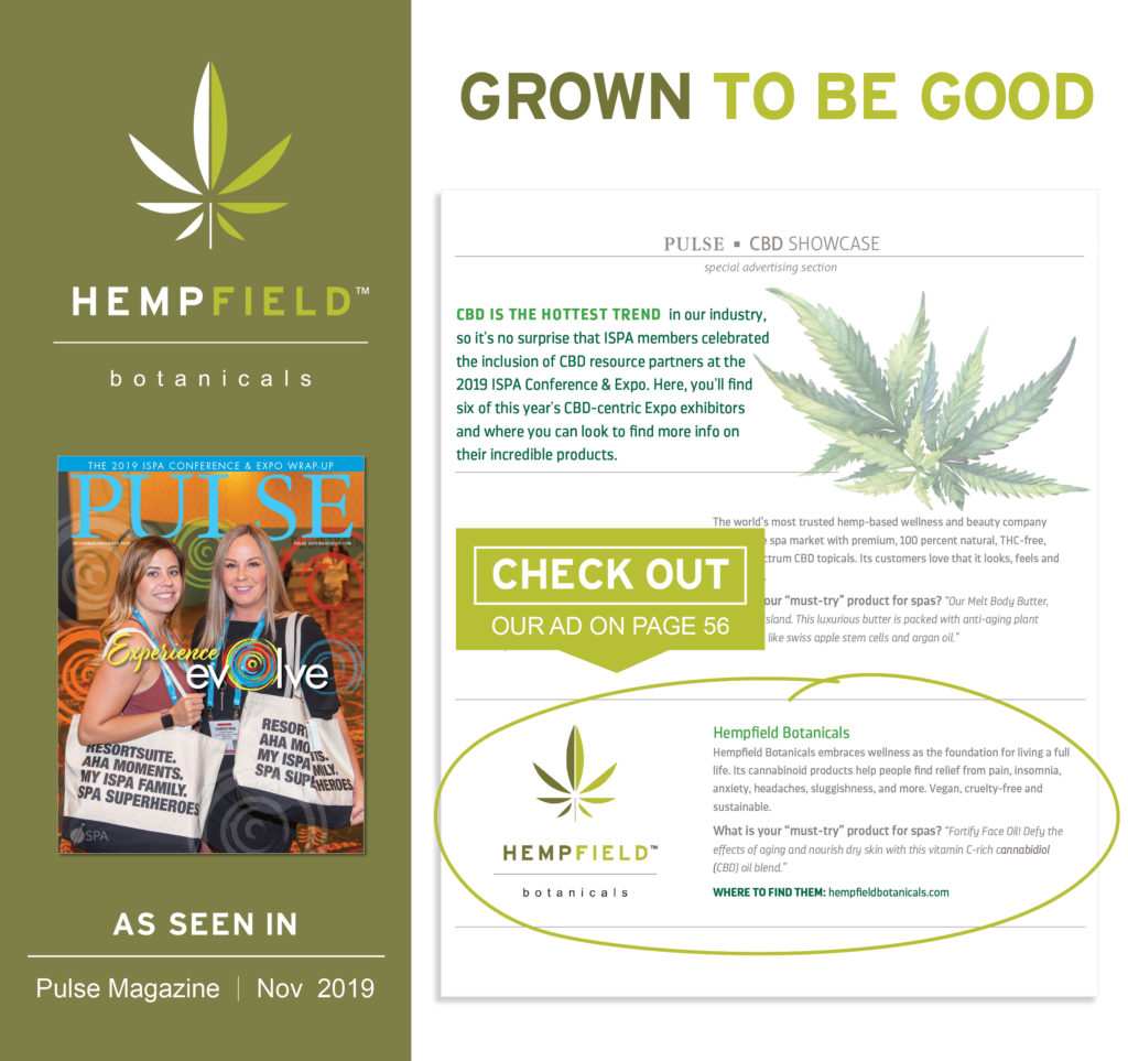 PULSE Magazine | International Spa Association | Hempfield Botanicals