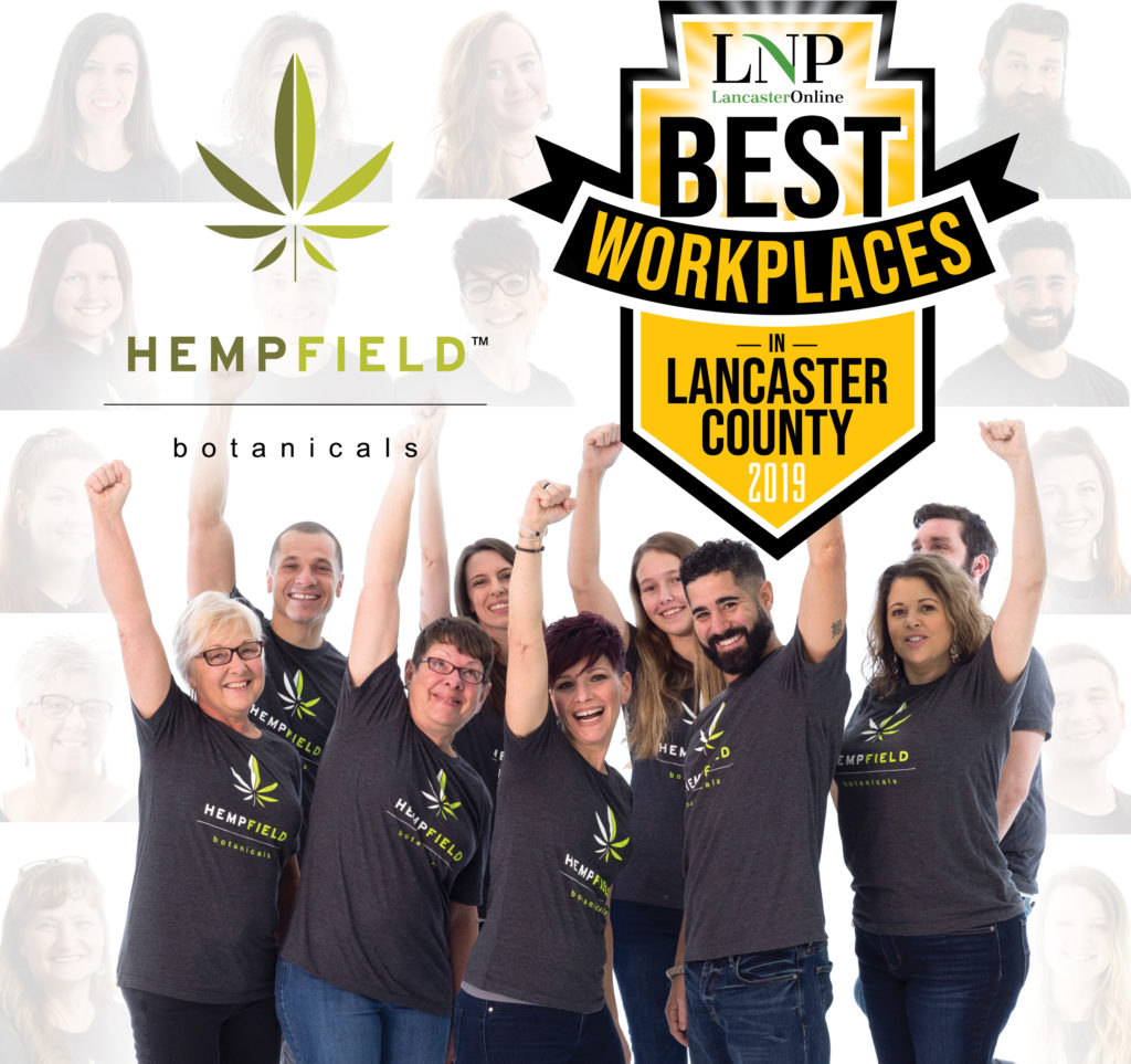 LNP Best Workplaces in Lancaster County 2019 | Hempfield Botanicals