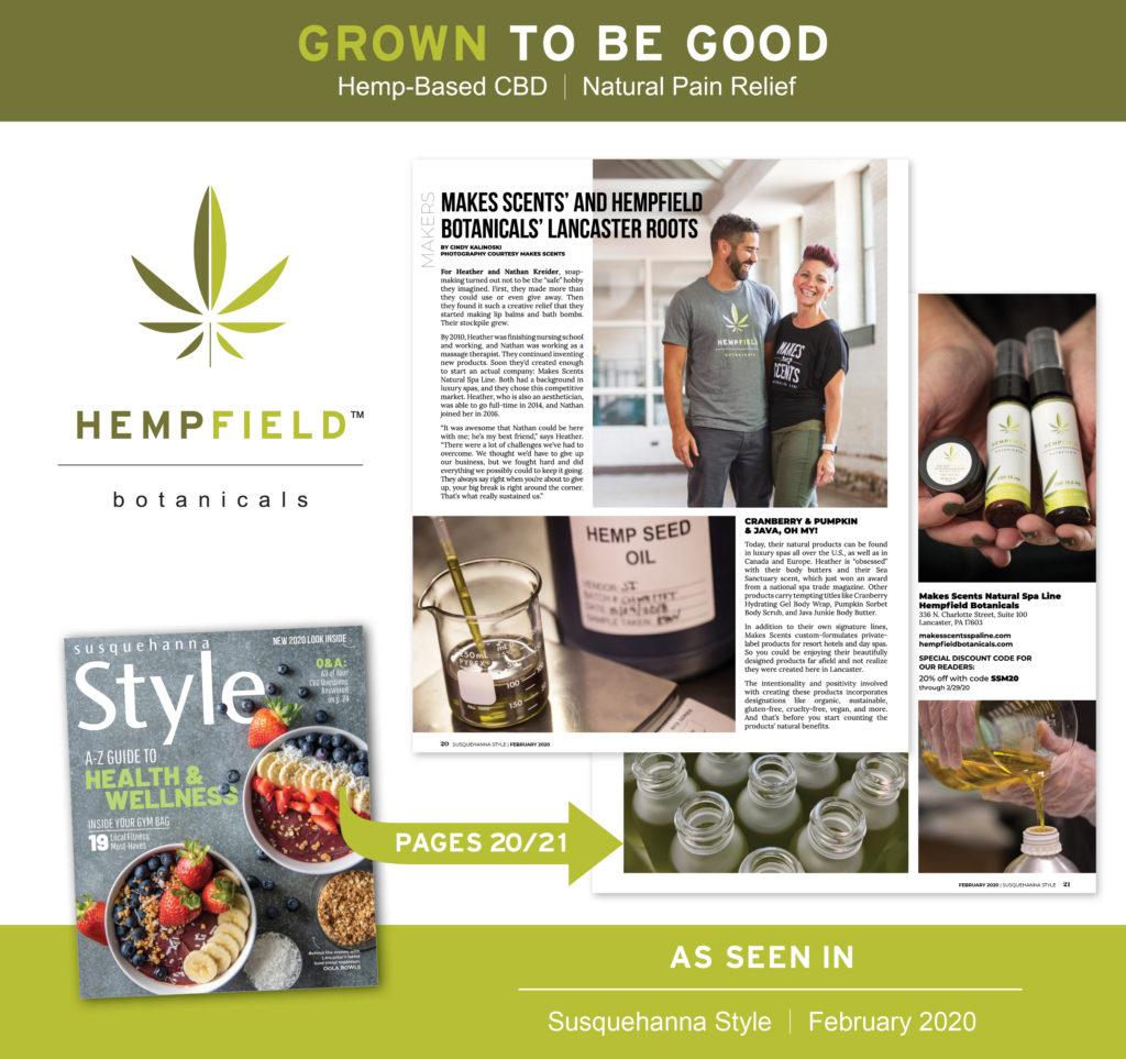 Susquehanna Style Magazine February 2020 | Hempfield Botanicals