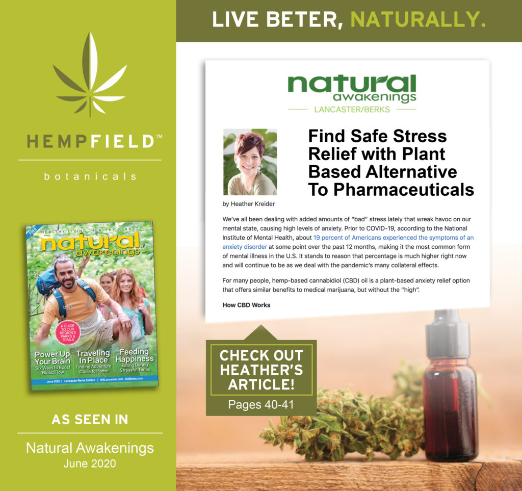 Find Safe Stress Relief with Plant-Based Alternatives to Pharmaceuticals | Natural Awakenings Magazine | Hempfield Botanicals