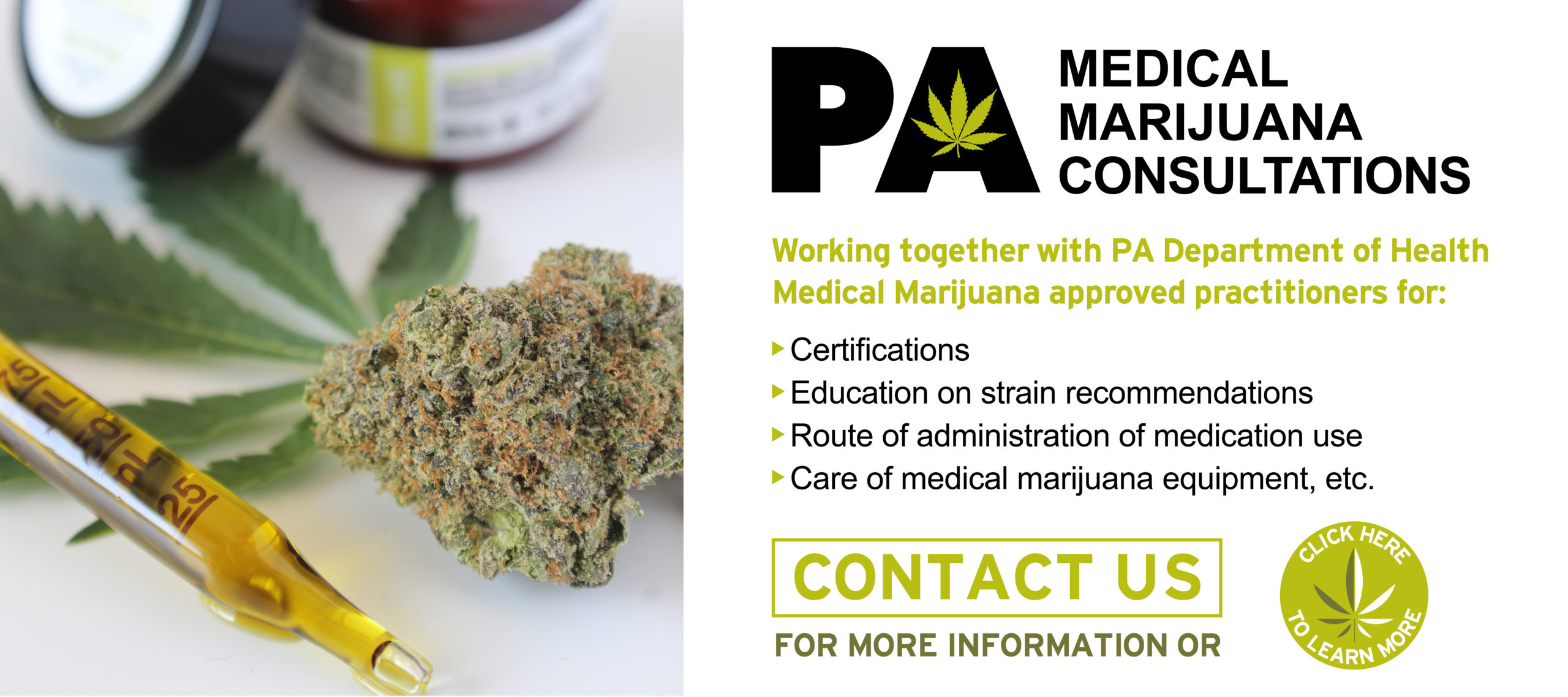 PA Medical Marijuana Consultations | Hempfield Botanicals