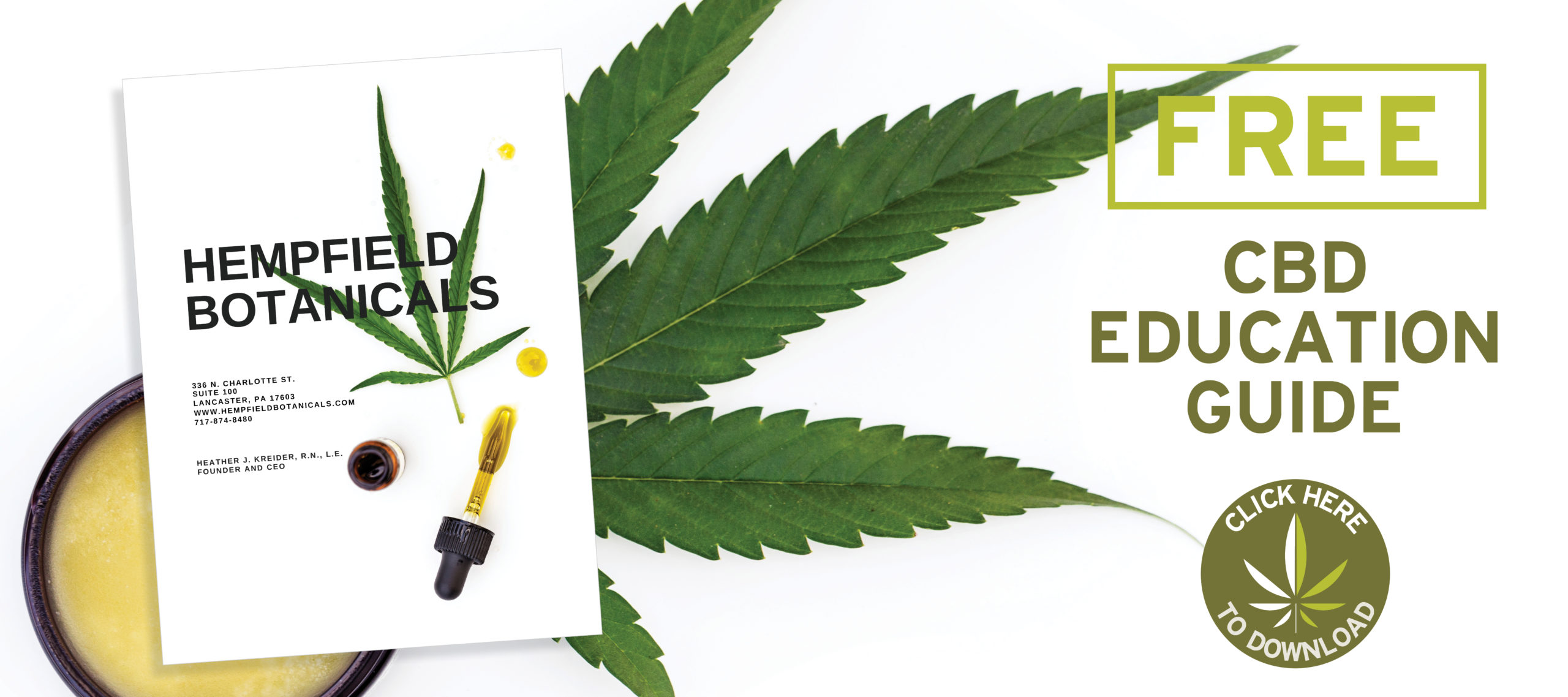 Free Downloadable CBD Guide | Hempfield Botanicals