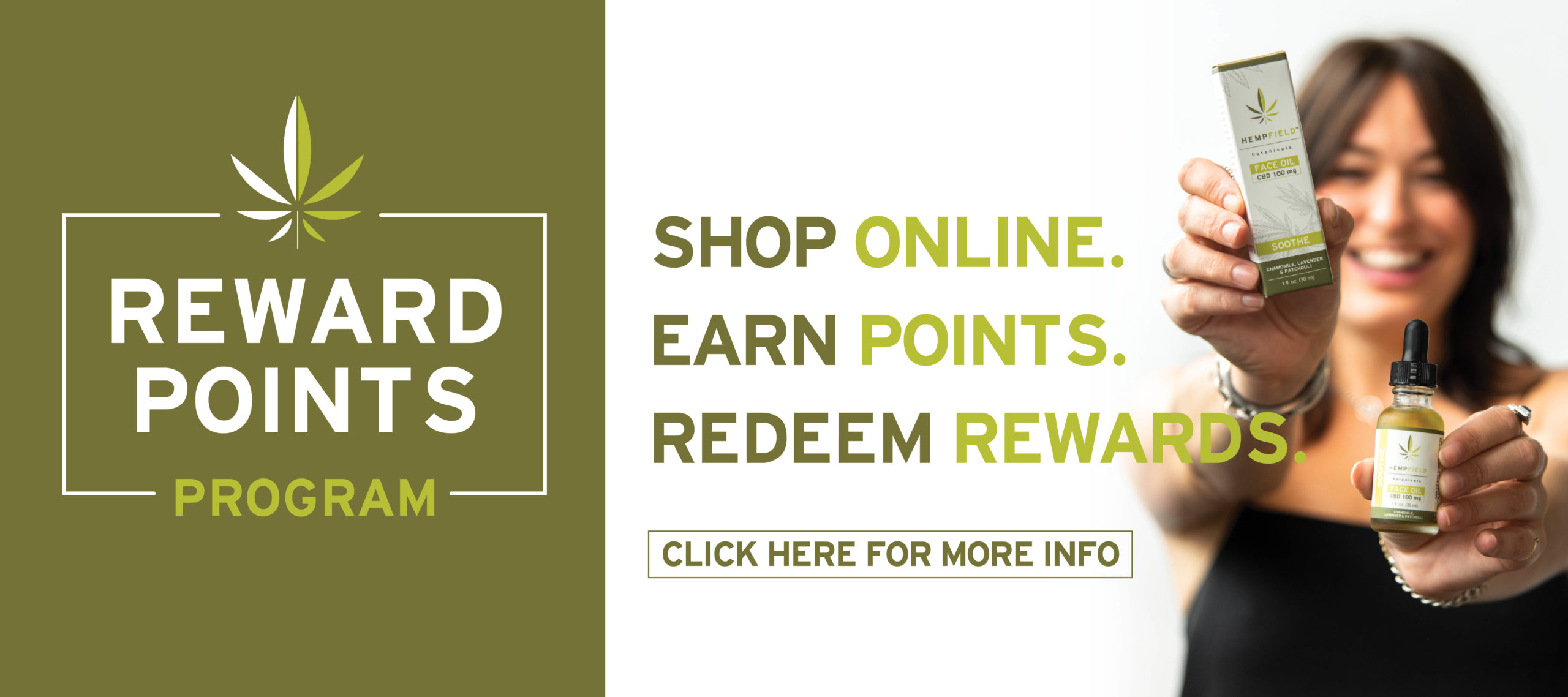Rewards Program | Hempfield Botanicals