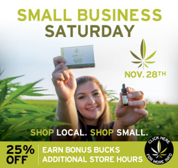 Shop Small Business Saturday with Hempfield Botanicals | 20% OFF + Bonus Bucks