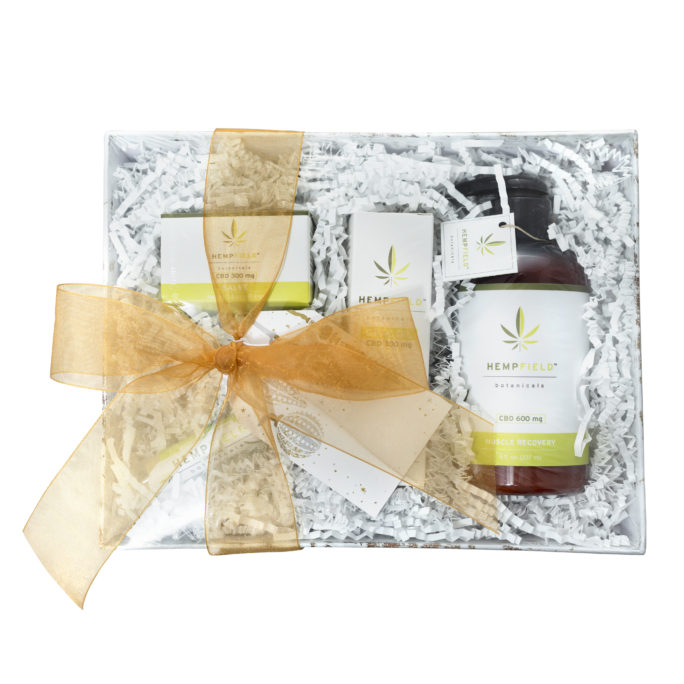 Hempy Holidays Gift Basket | Hempfield Botanicals