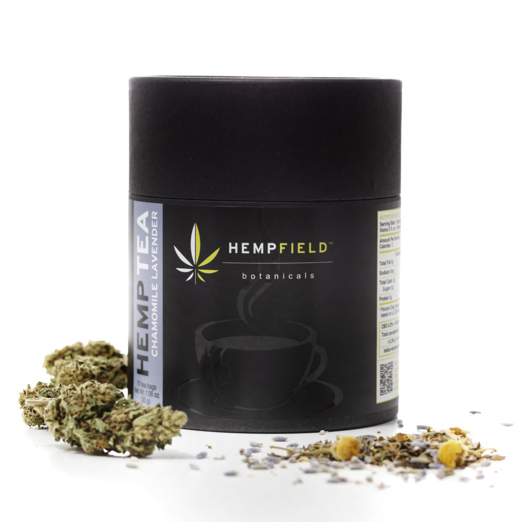Chamomile Lavender Hemp Tea | Hempfield Botanicals