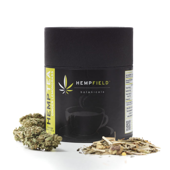 Ginger Lemongrass Hemp Tea | Hempfield Botanicals