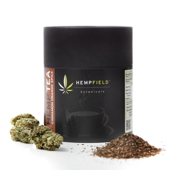 Cinnamon Orange Spice Hemp Tea | Hempfield Botanicals
