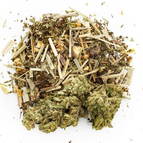 Ginger Lemongrass Hemp Tea   Hempfield Botanicals
