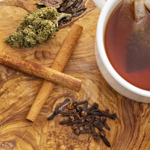 Cinnamon Orange Spice Hemp Tea | Hempfield Botanicals