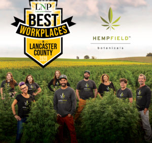 LNP 2021 Best Workplaces in Lancaster County | Hempfield Botanicals