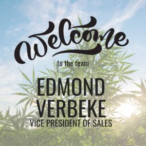 New Vice President of Sales | Edmond Verbeke
