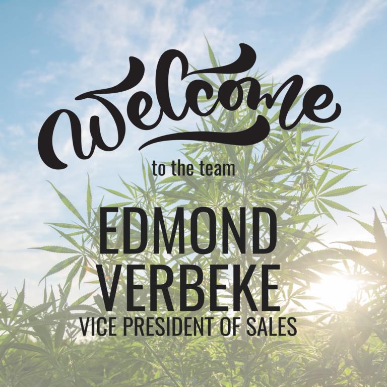 New Vice President of Sales   Edmond Verbeke