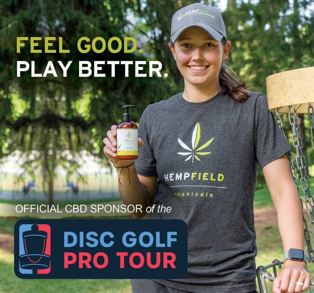 Disc Golf Pro Tour 2021 CBD Sponsor | Hempfield Botanicals